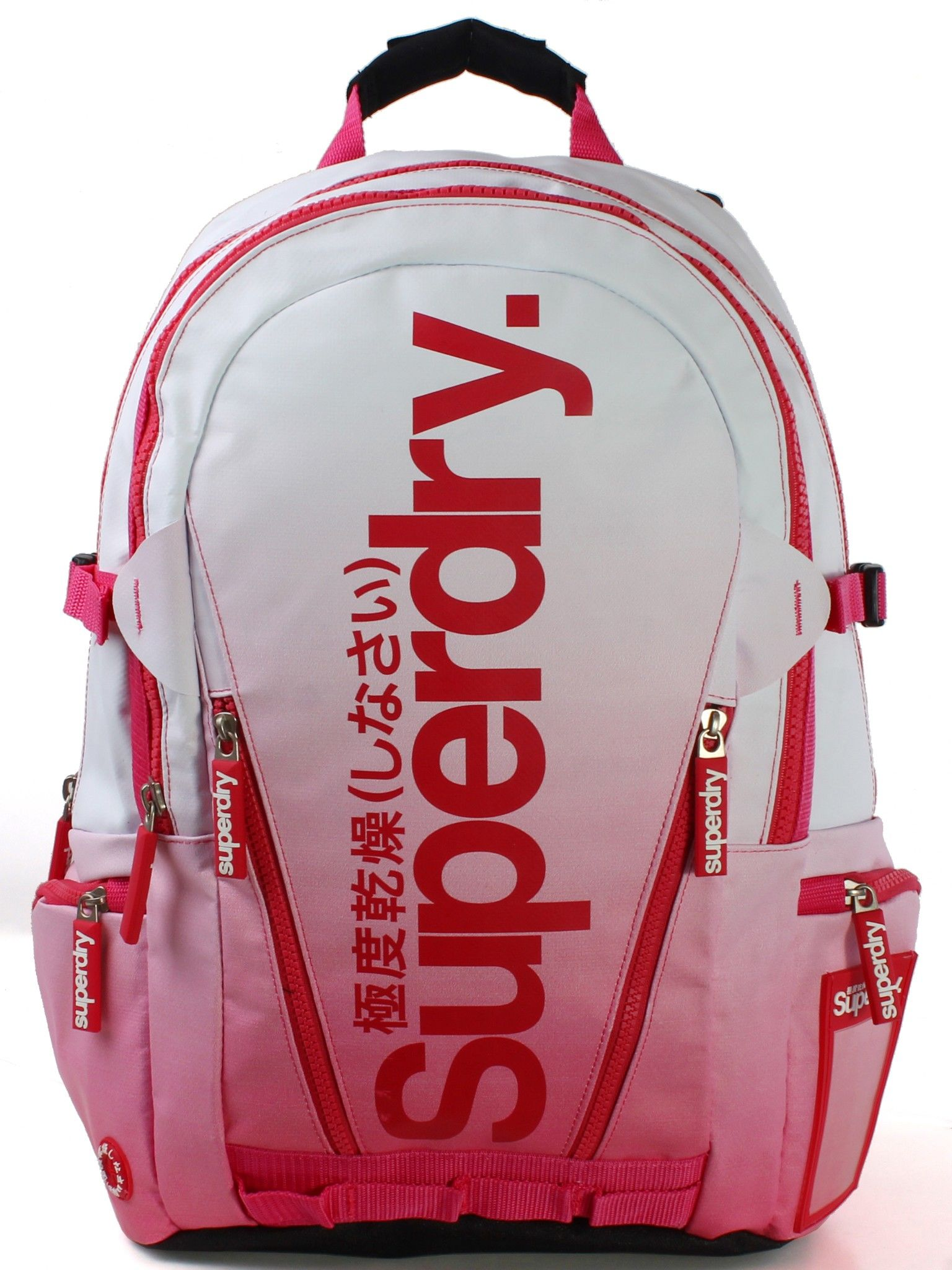 Superdry Dip Tarp Backpack Pink