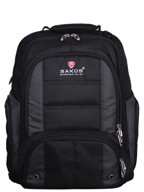 Sakos Zeus i15 Backpack Black