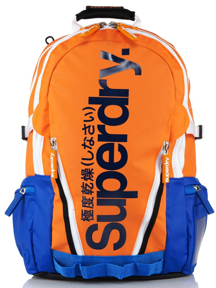 Superdry California Tarp Backpack (M) Orange