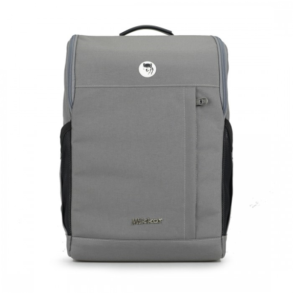 THE LEWIS BACKPACK (DARK MOUSE GREY)