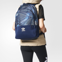 Adidas Blue Geolory Originals Backpack